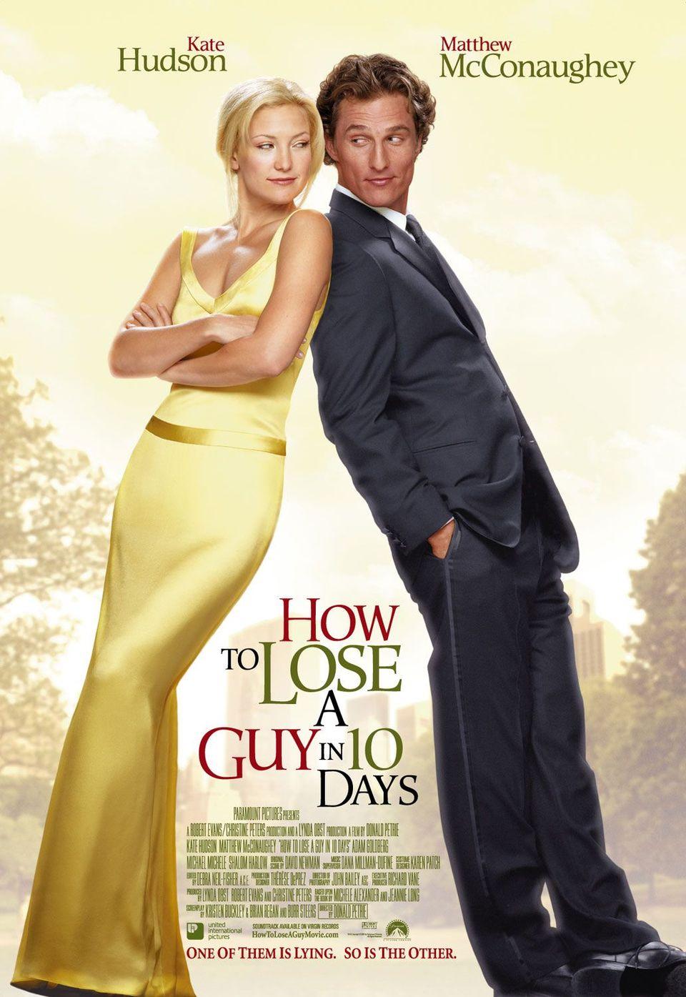 Cartel Estados Unidos de 'Cómo perder a un chico en 10 días'
