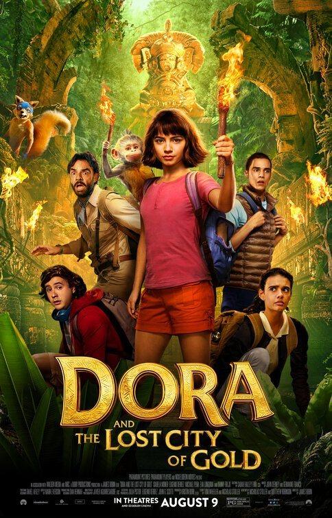 Cartel Poster EEUU de 'Dora y la ciudad perdida'
