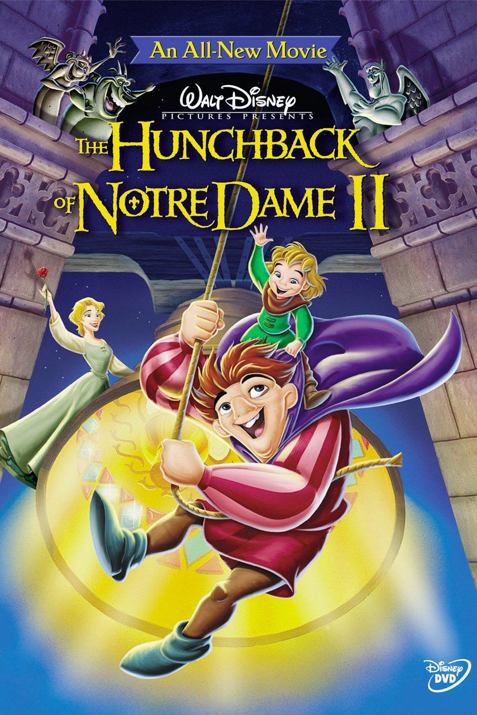 Cartel The Hunchback of Notre Dame II de 'El jorobado de Notre Dame 2: El secreto de la campana'