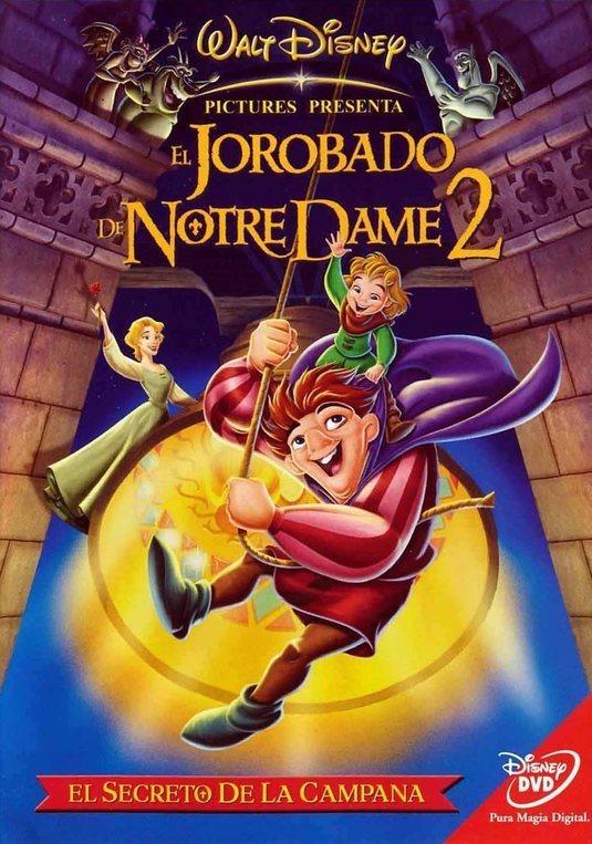 Cartel El jorobado de Notre Dame 2: El secreto de la campana de 'El jorobado de Notre Dame 2: El secreto de la campana'