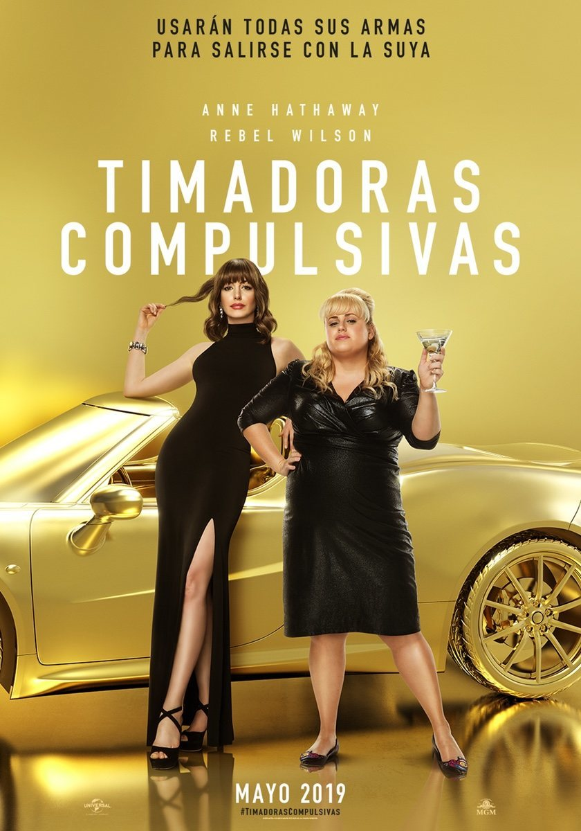 Cartel España de 'Timadoras compulsivas'