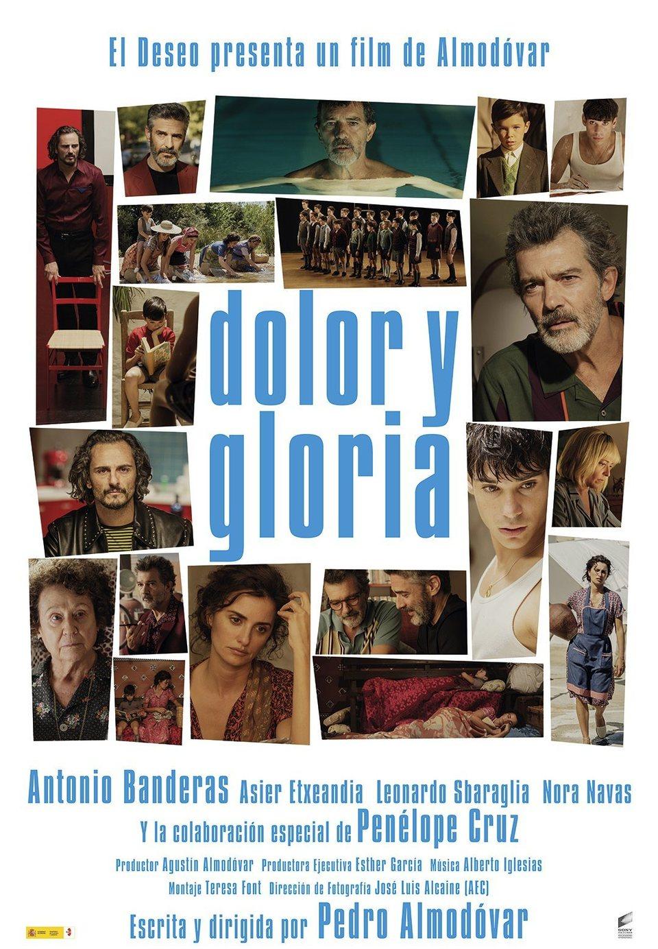 Cartel España de 'Dolor y gloria'