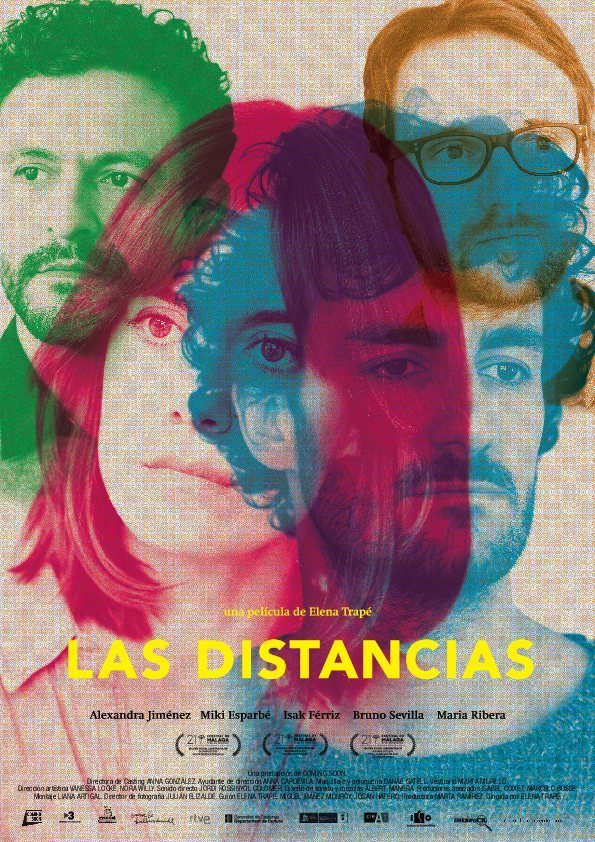 Cartel Póster de 'Las distancias'