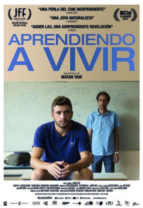 Cartel Póster español de 'Aprendiendo a vivir'