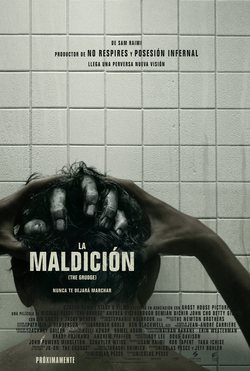 Cartel de La maldición (The Grudge)