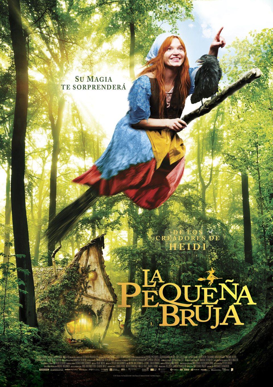 Cartel Español de 'La pequeña bruja'