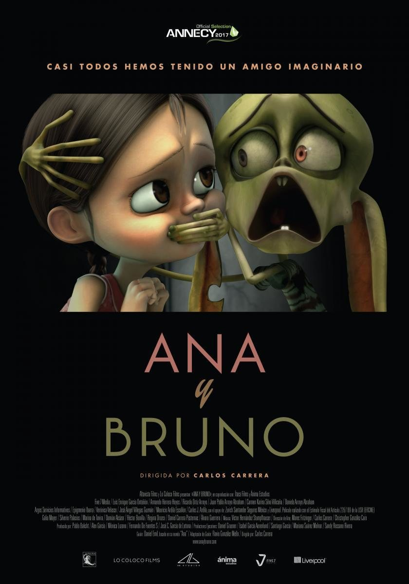 Cartel Cartel original de 'Ana y Bruno'