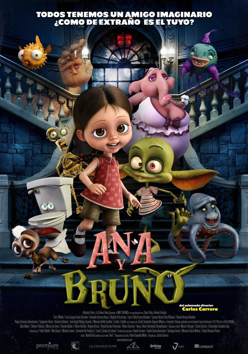 Cartel España de 'Ana y Bruno'
