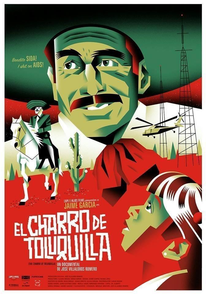 Cartel póster de 'El charro de Toluquilla'