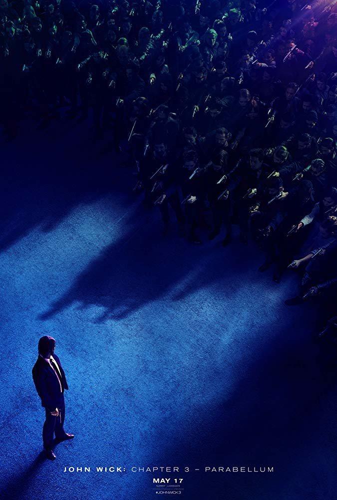 Cartel Teaser póster 'John Wick 3: Parabellum' de 'John Wick: Capítulo 3 - Parabellum'