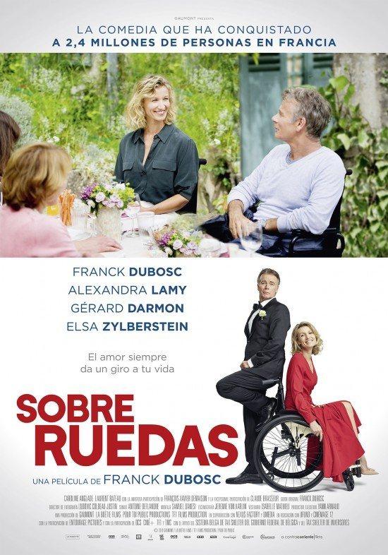 Cartel España de 'Sobre ruedas'