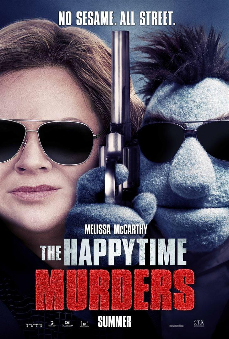 Cartel The Happytime Murders de '¿Quién está matando a los moñecos?'