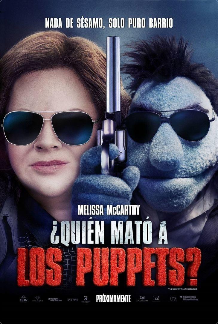 Cartel ¿Quién mató a los puppets? de '¿Quién está matando a los moñecos?'