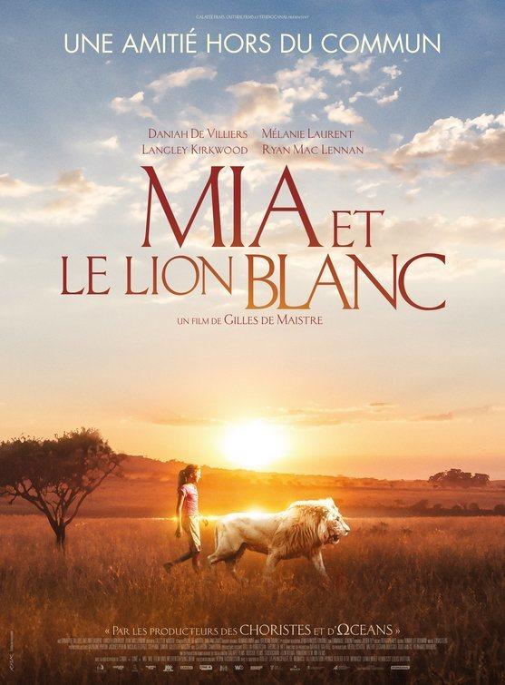 Cartel Francia #1 de 'Mia y el león blanco'