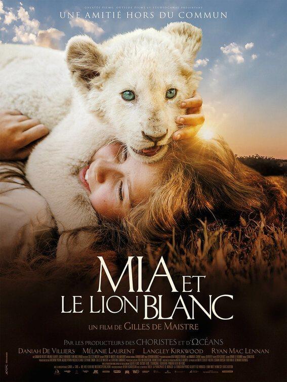 Cartel Francia #2 de 'Mia y el león blanco'