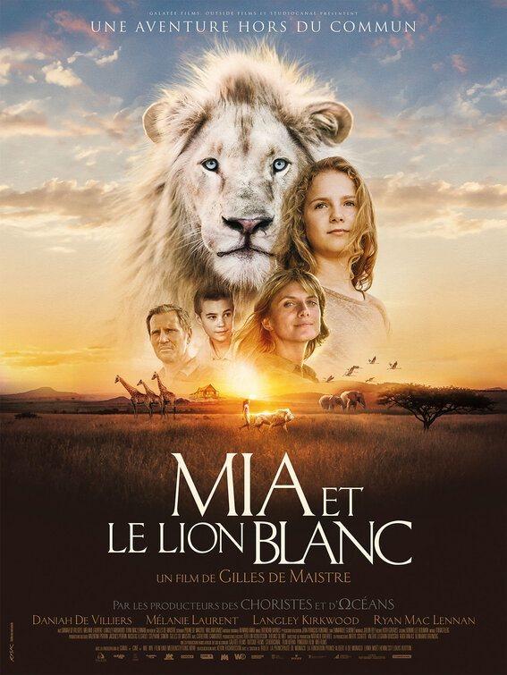 Cartel Francia #3 de 'Mia y el león blanco'