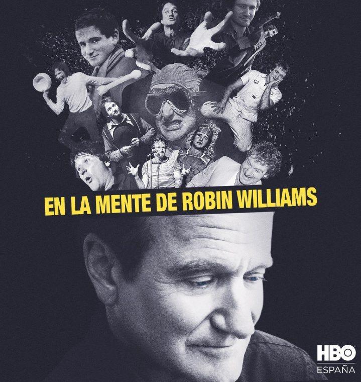 Cartel Póster español de 'En la mente de Robin Williams'