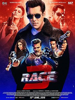 Cartel de Race 3