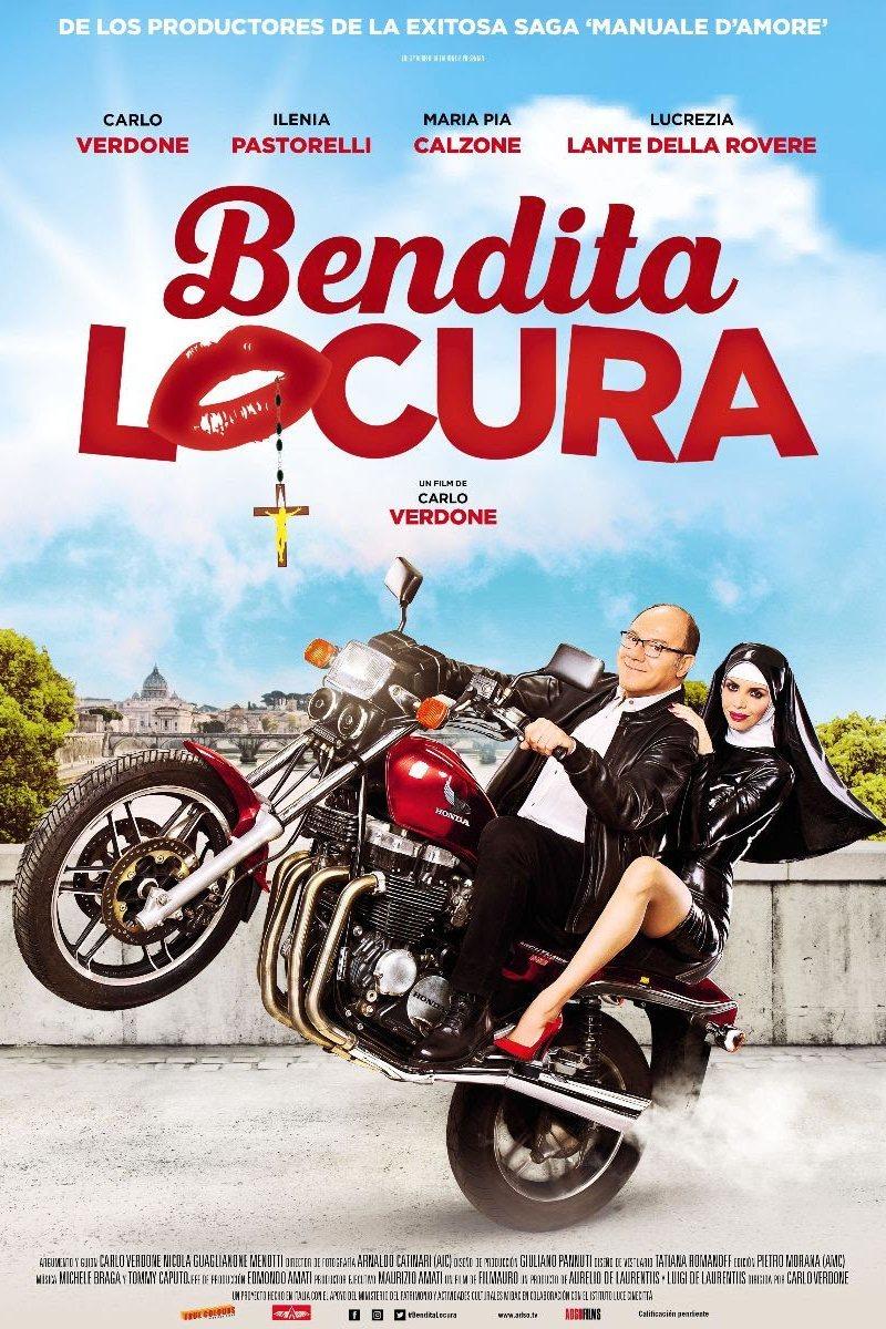 Cartel Cartel español de 'Bendita locura'