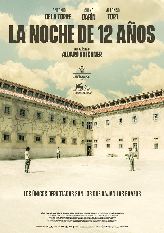 Cartel Uruguay de 'La noche de 12 años'