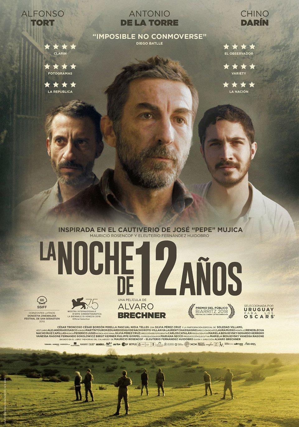 Cartel España de 'La noche de 12 años'