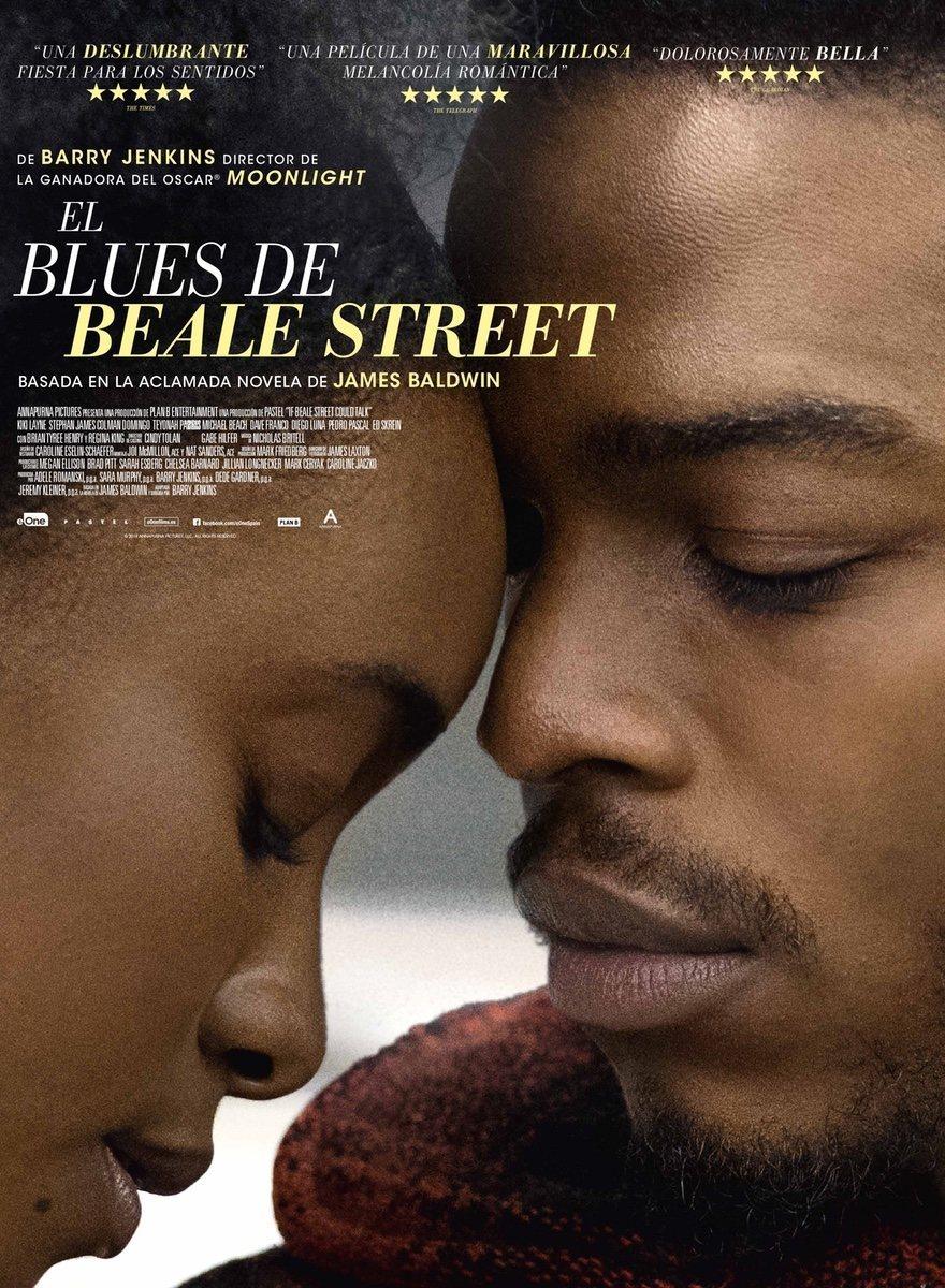 Cartel España #1 de 'El blues de Beale Street'