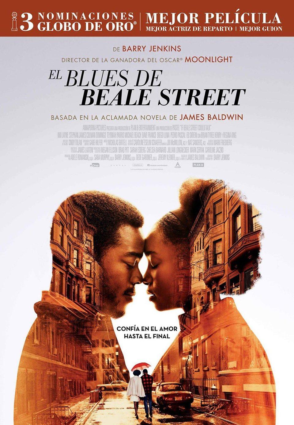 Cartel España #2 de 'El blues de Beale Street'