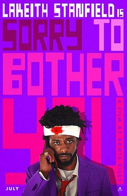 Cartel de Sorry to Bother You