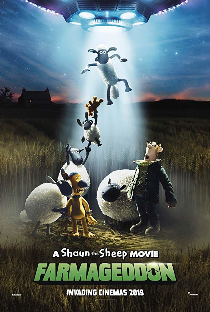 Cartel Internacional de 'La oveja Shaun. La película: Granjaguedon'