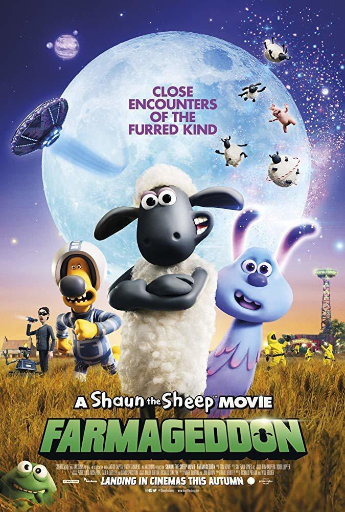 Cartel Poster #2 Inglés de 'La oveja Shaun. La película: Granjaguedon'
