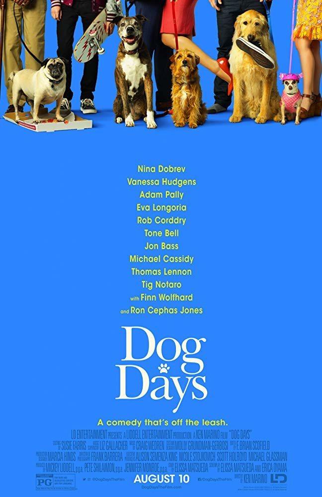 Cartel EEUU de 'I Love Dogs'