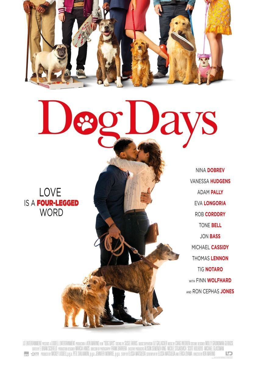 Cartel EEUU #2 de 'I Love Dogs'