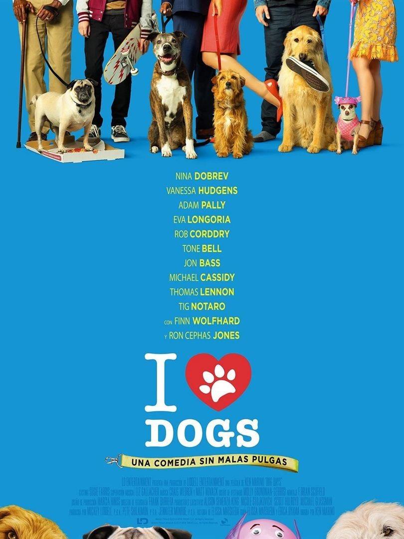 Cartel España de 'I Love Dogs'
