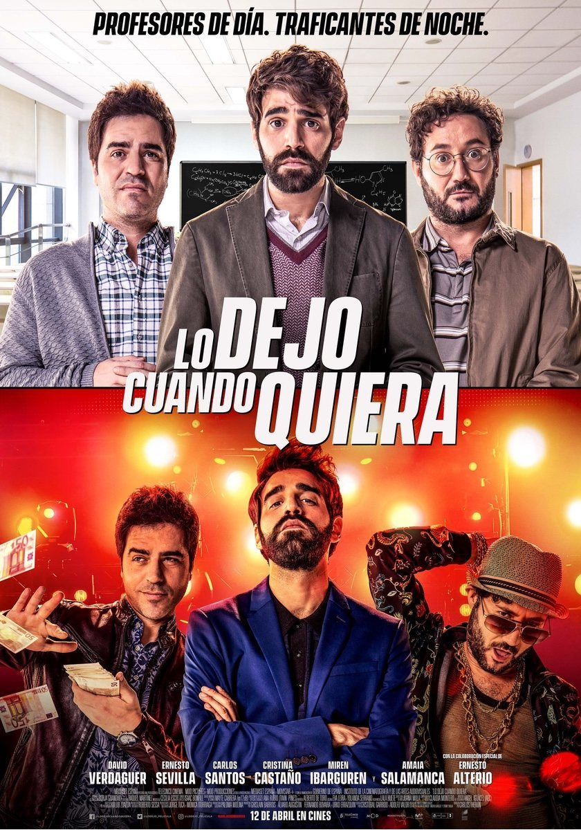 Cartel España de 'Lo dejo cuando quiera'