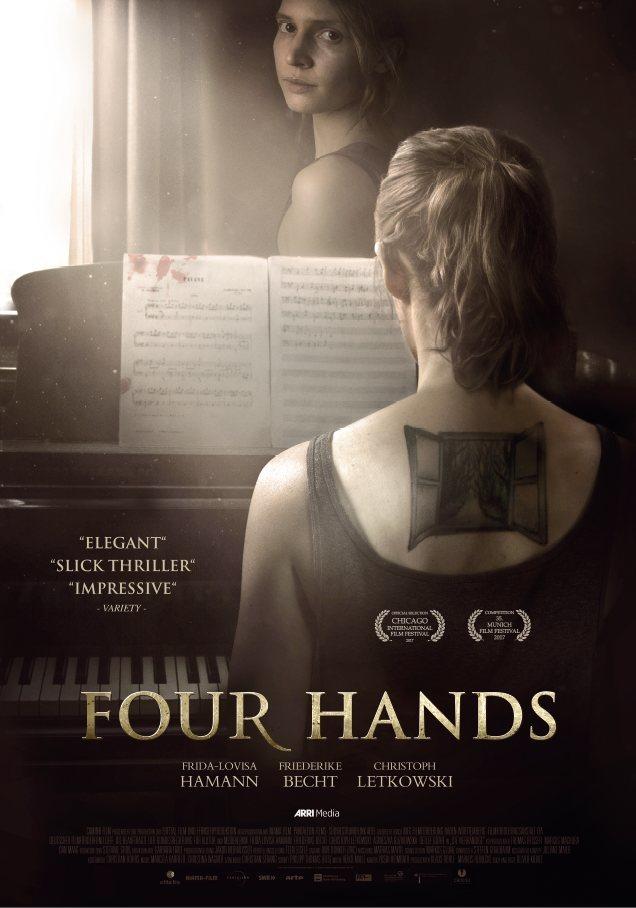 Cartel Four Hands de 'Cuatro manos'