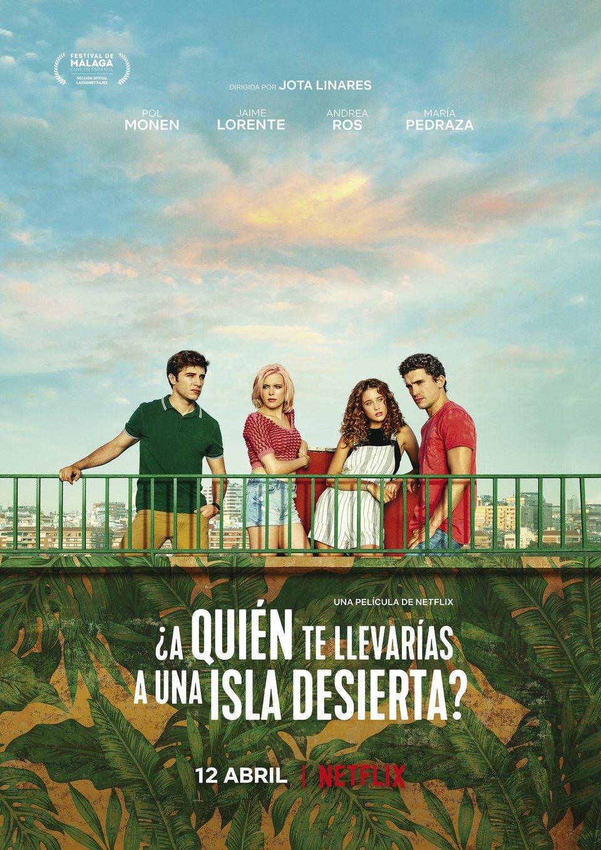 Cartel España de '¿A quién te llevarías a una isla desierta?'