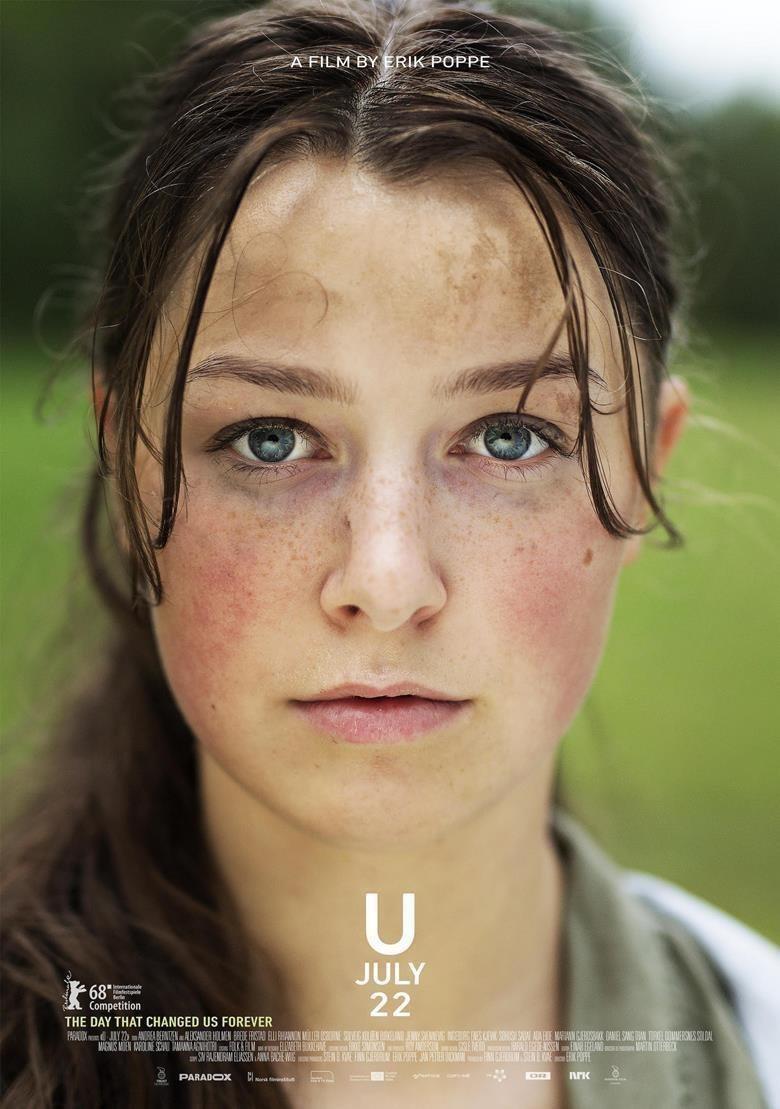 Cartel 'Utoya, 22 de julio' de 'Utoya. 22 de julio'