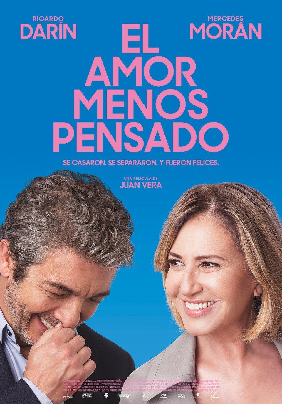 Cartel Póster España de 'El amor menos pensado'