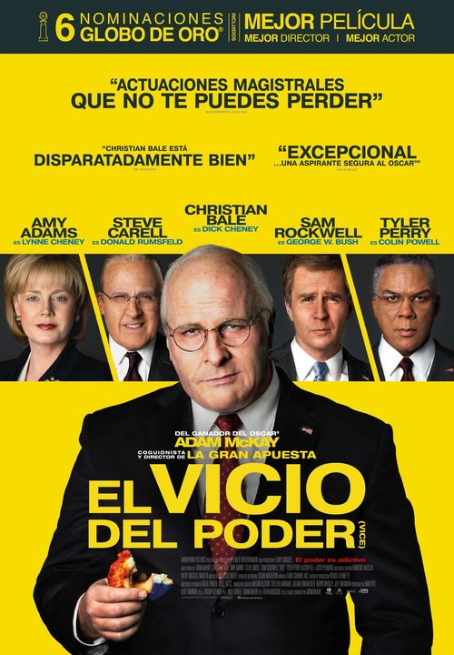 El vicio del poder (2018) streaming