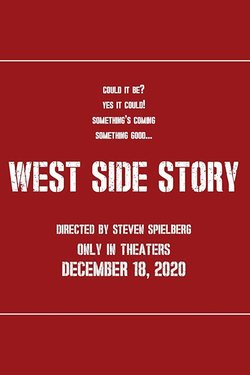 Cartel de West Side Story