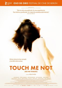 Cartel de Touch Me Not (No me toques)