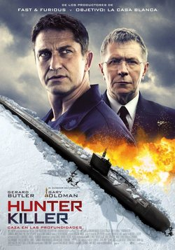 Cartel de Hunter Killer. Caza en las profundidades