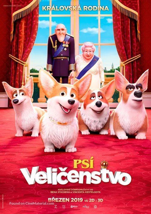 Cartel The Queen's Corgi de 'Corgi, las mascotas de la reina'