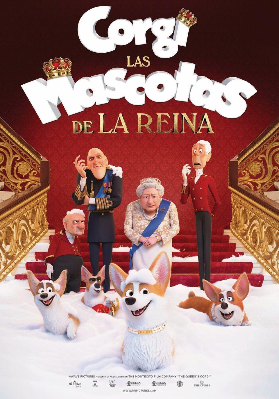 Cartel Corgi, las mascotas de la reina de 'Corgi, las mascotas de la reina'