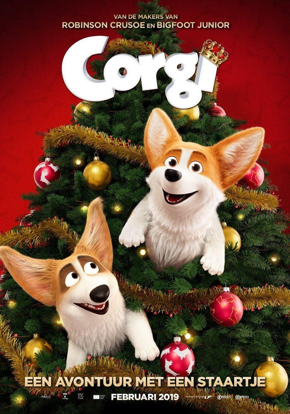 Cartel Corgi de 'Corgi, las mascotas de la reina'