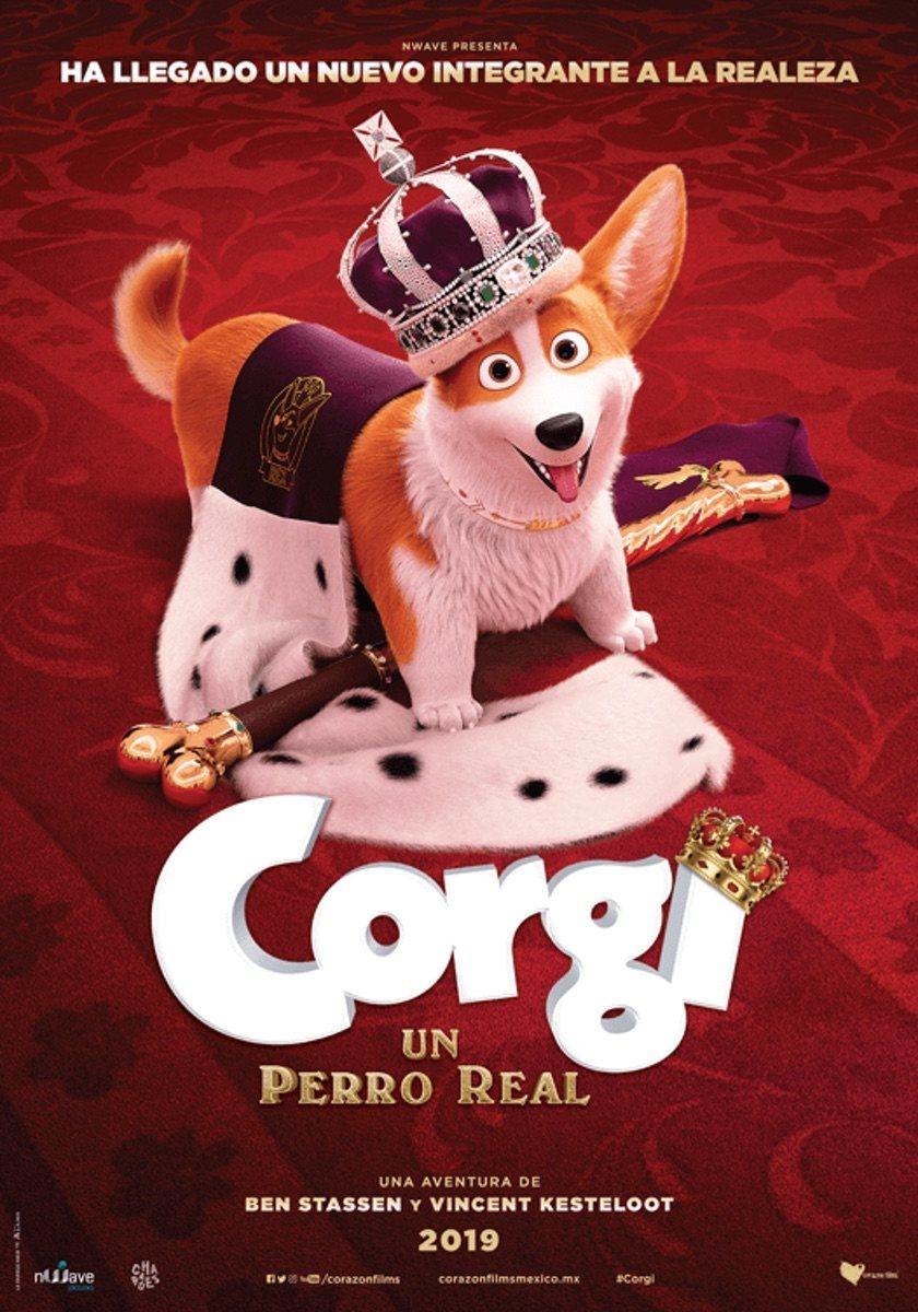 Cartel México 2 de 'Corgi, las mascotas de la reina'