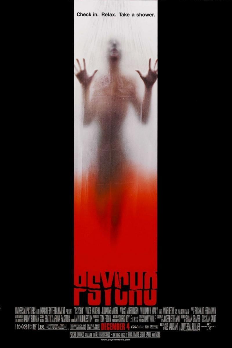 Cartel 'Psycho' Internacional de 'Psycho'