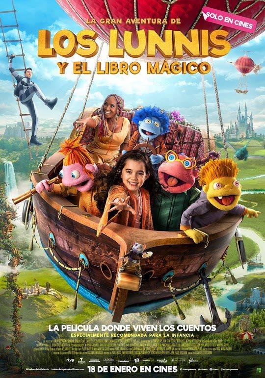 La gran aventura de los Lunnis y el libro mágico-cine-velasco-totana