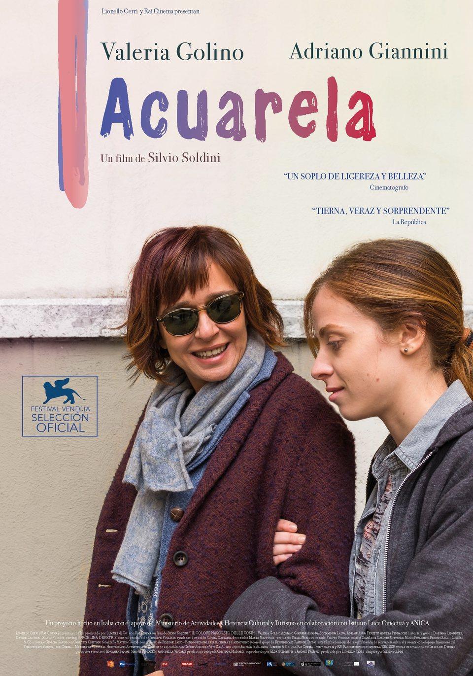 Cartel Acuarela de 'Acuarela'