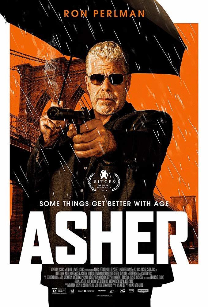 Cartel Asher de 'Asher'